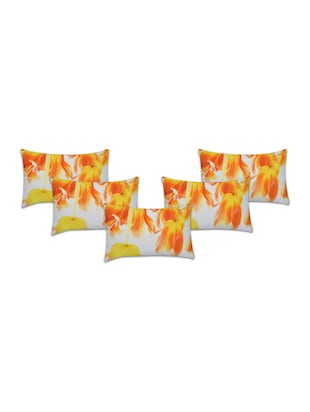Set of 5 Cotton Cushion Covers - 15040352 - Standard Image - 1
