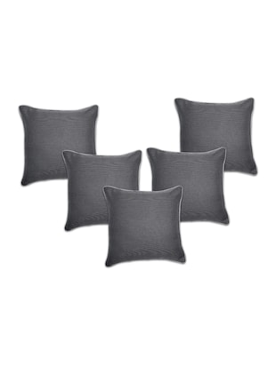 Set of 5 Polyester Cushion Covers - 15040370 - Standard Image - 1