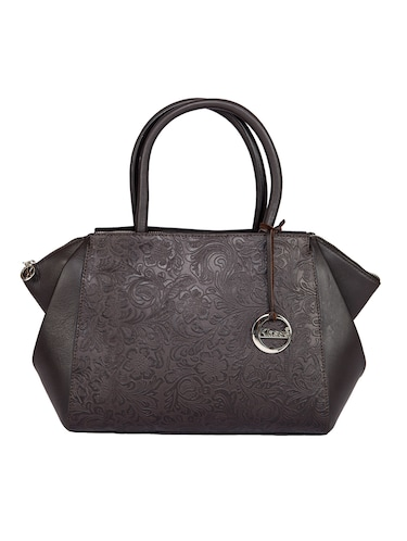brown leather regular handbag - 15059307 - Standard Image - 1