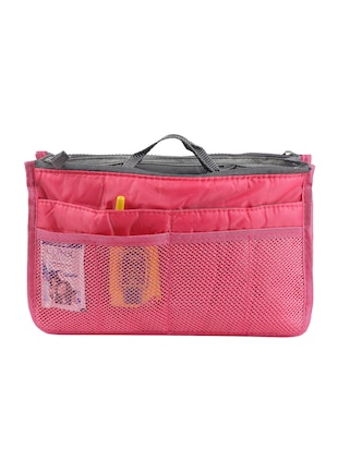 red polyester utility bag - 15083657 - Standard Image - 1