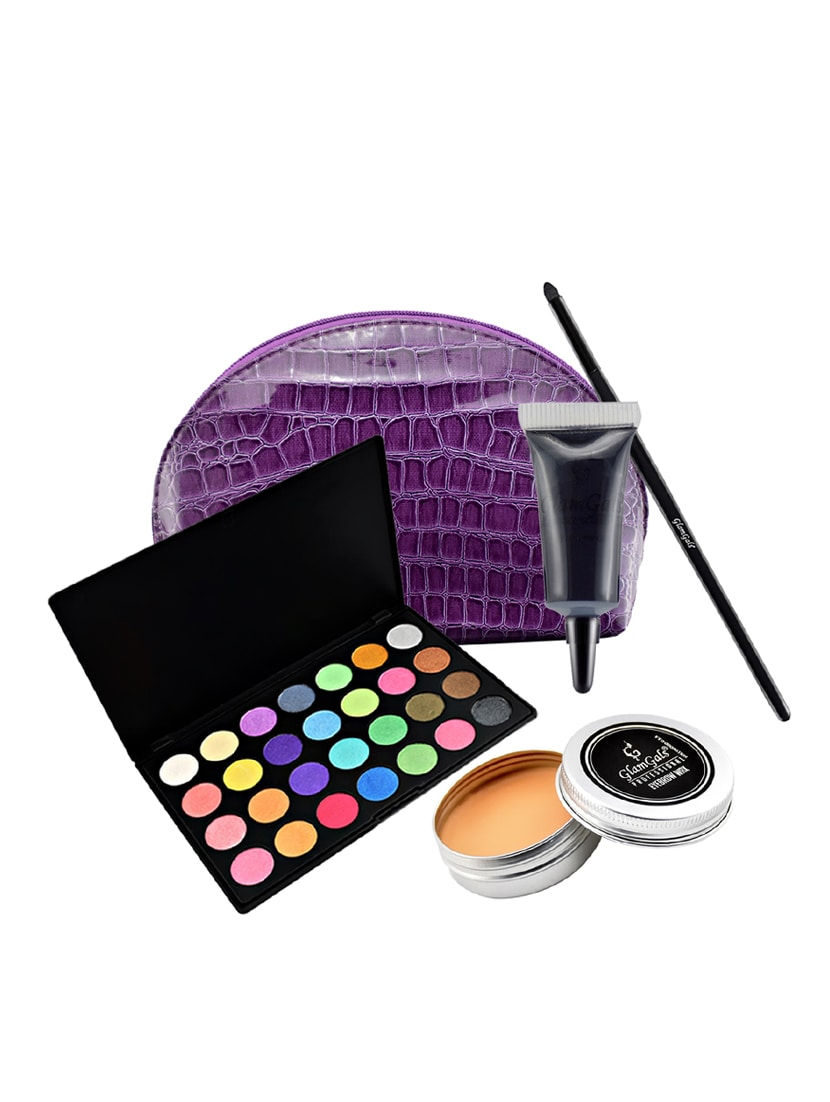 Buy Glamgals Eye Makeup Essential Combo Set Pack Of 4 With Free