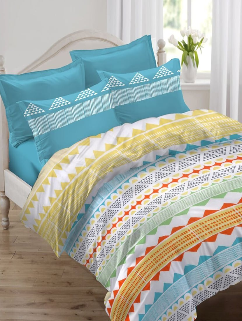 Buy Comfort Cotton Double Bedsheet With 2 Pillow Covers By Ahmedabad Cotton    Online Shopping For Bed Sheet Sets In India | 15108399