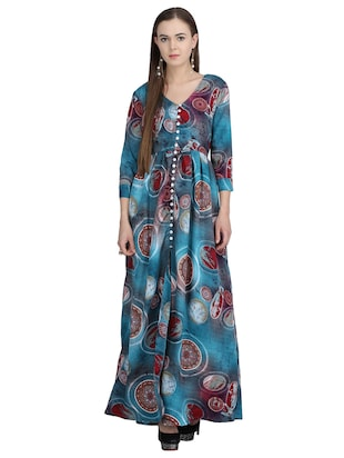 button down pleated maxi dress - 15113278 - Standard Image - 1