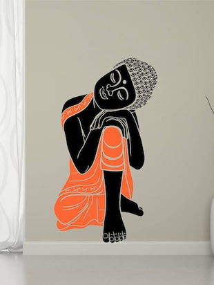 Art Sleeping Buddha Wall Sticker - 15114202 - Standard Image - 1