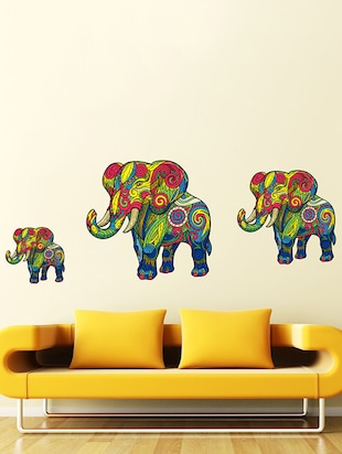 Elephant Wall Sticker - 15114233 - Standard Image - 1