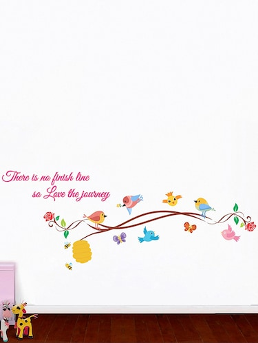 Love the Journey Wall Sticker - 15114241 - Standard Image - 1