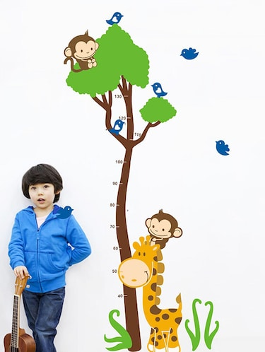 Measure your Height Wall Sticker - 15114255 - Standard Image - 1