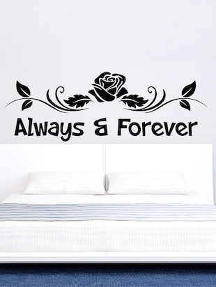 Always and Forever Wall Sticker - 15114320 - Standard Image - 1