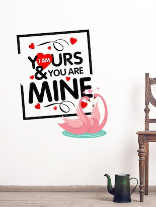 Valentine I am Yours Wall Sticker - 15114341 - Standard Image - 1