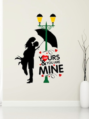 valentine I am in Love Wall Sticker - 15114342 - Standard Image - 1