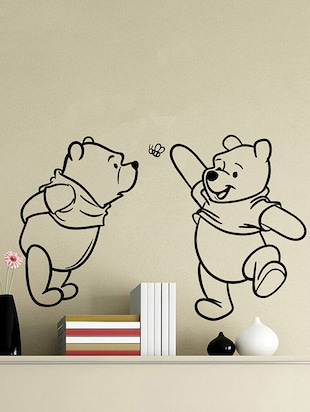 Two Cute Pooh Wall Sticker - 15114368 - Standard Image - 1
