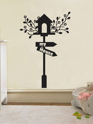 MY HOUSE Wall Sticker - 15114389 - Standard Image - 1