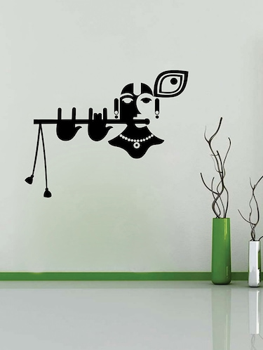 Lord Krishna Wall Sticker - 15114405 - Standard Image - 1