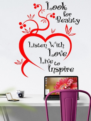 Look for Beauty Wall Sticker - 15114406 - Standard Image - 1