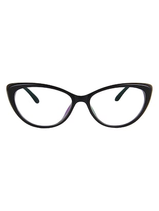 Zyaden Black Cat-Eye Eyewear Frame For Womens 36 - 15125375 - Standard Image - 1
