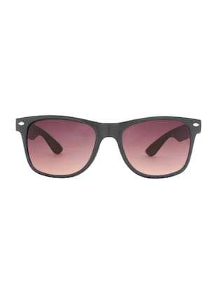 Zyaden Brown Wayfarer Sunglasses ( WAY-55 ) - 15127557 - Standard Image - 1