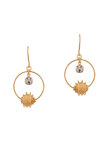 Gold Tone Drop Earrings - 15166845 - Standard Image - 1