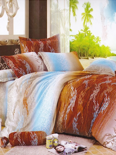 200 TC 100% Cotton Twill Printed Design, Multicolored, Pair Of Regular Size Pillow Covers - 15170464 - Standard Image - 1
