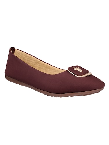brown slip on ballerina - 15171840 - Standard Image - 1