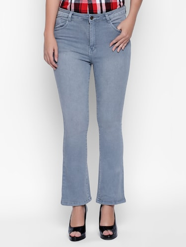 grey denim jeans - 15175401 - Standard Image - 1