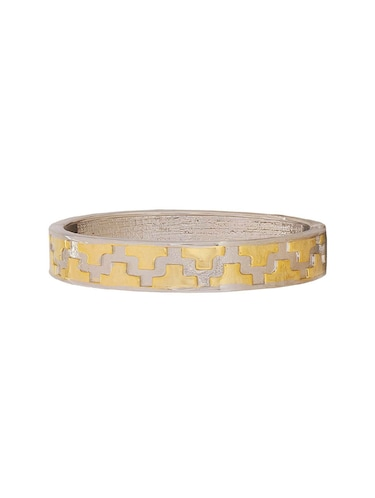 gold metal bangle - 15185785 - Standard Image - 1