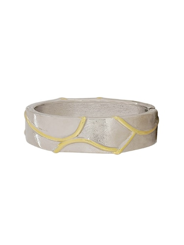 silver metal bangle - 15185823 - Standard Image - 1