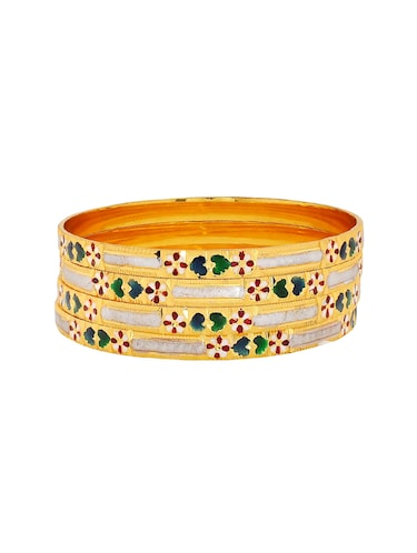 multi brass bangle - 15185834 - Standard Image - 1