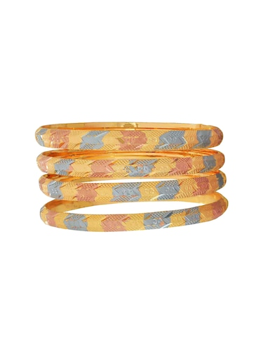 multi brass bangle - 15185908 - Standard Image - 1