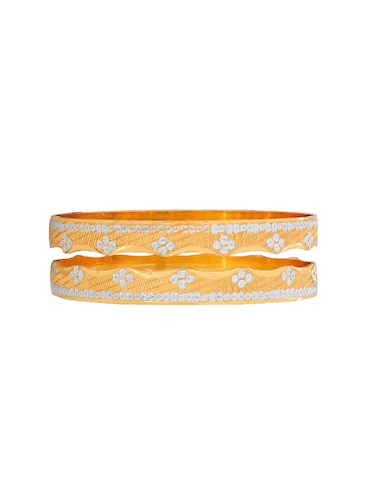 gold brass bangle - 15185924 - Standard Image - 1