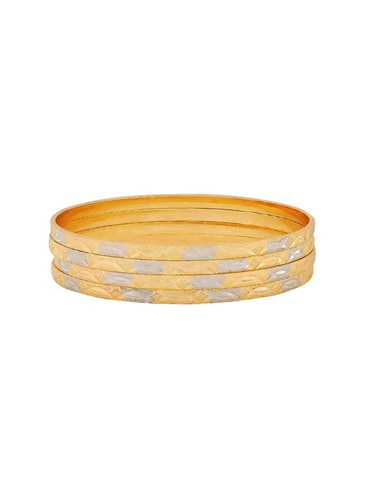 gold brass bangle - 15185939 - Standard Image - 1