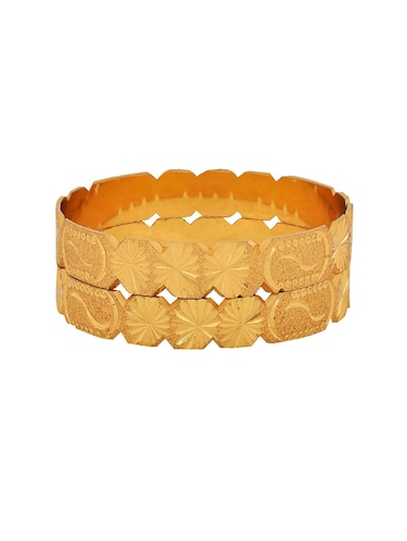 brown brass bangle - 15185945 - Standard Image - 1