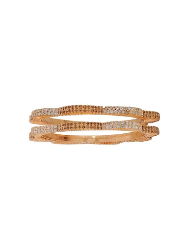 brown brass bangle - 15185953 - Standard Image - 1