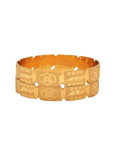 brown brass bangle - 15185954 - Standard Image - 1