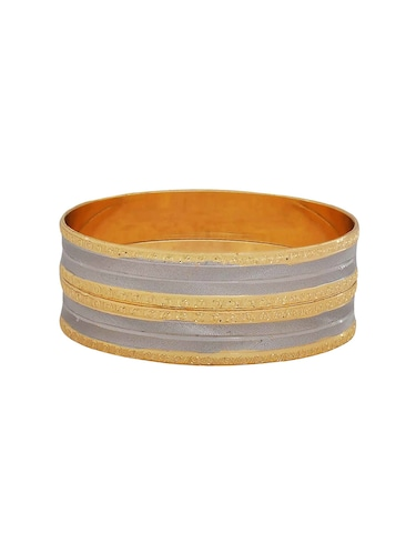 gold brass bangle - 15185966 - Standard Image - 1