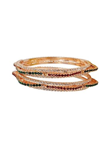 red metal bangle - 15186012 - Standard Image - 1