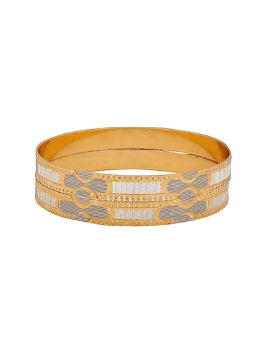 gold brass bangle - 15186347 - Standard Image - 1