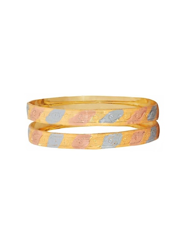multi brass bangle - 15186371 - Standard Image - 1