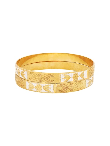 gold brass bangle - 15186383 - Standard Image - 1