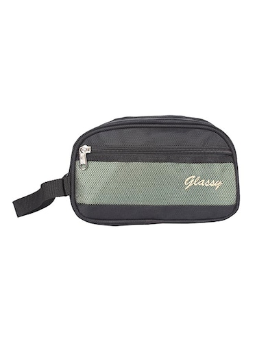 black leatherette (pu) regular pouch - 15189898 - Standard Image - 1