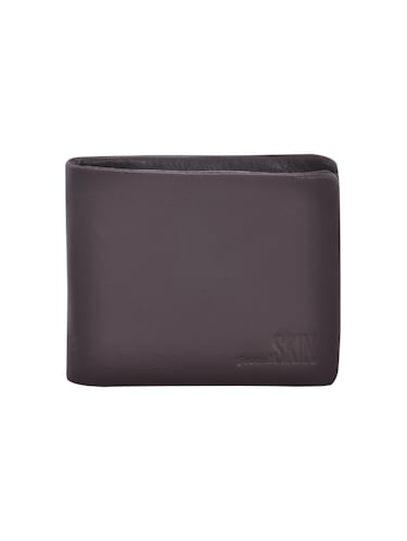 brown leatherette wallet - 15190966 - Standard Image - 1