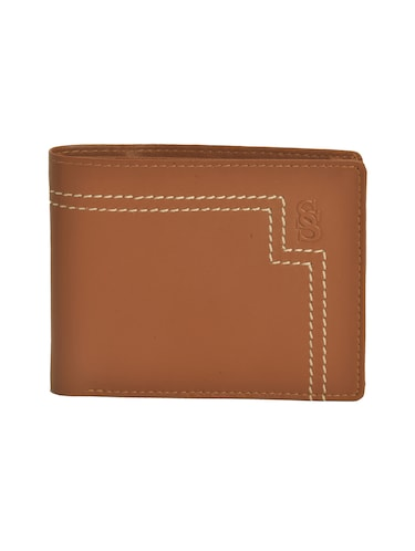 brown leatherette wallet - 15190978 - Standard Image - 1