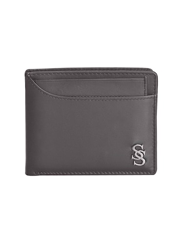 brown leatherette wallet - 15191005 - Standard Image - 1