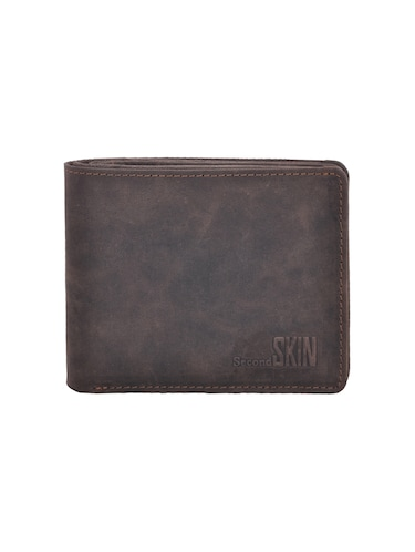 grey leatherette wallet - 15191035 - Standard Image - 1
