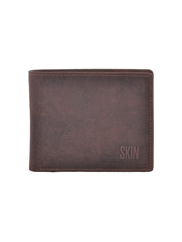 brown leatherette wallet - 15191037 - Standard Image - 1