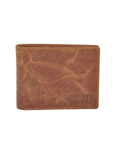 brown leatherette wallet - 15191046 - Standard Image - 1