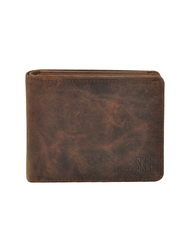 brown leatherette wallet - 15191048 - Standard Image - 1