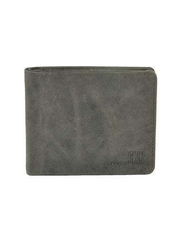 grey leatherette wallet - 15191050 - Standard Image - 1