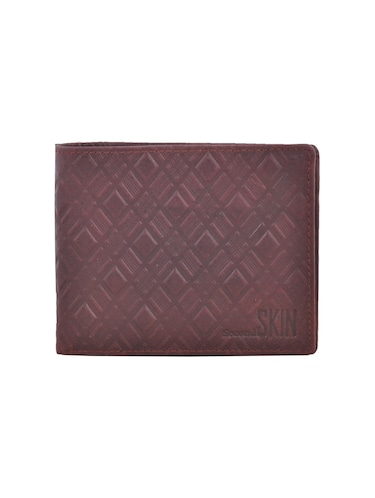 brown leatherette wallet - 15191060 - Standard Image - 1