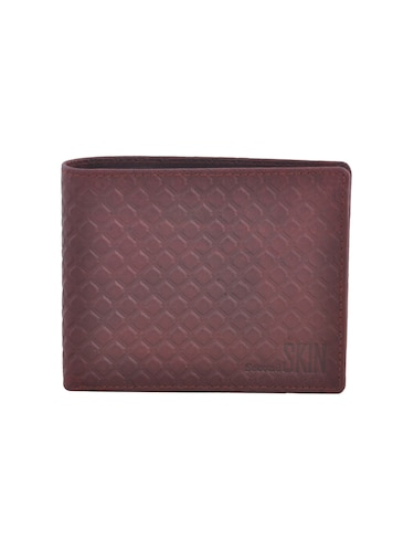 brown leatherette wallet - 15191063 - Standard Image - 1