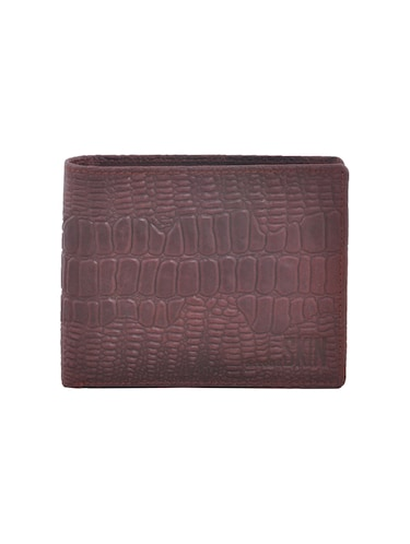brown leatherette wallet - 15191078 - Standard Image - 1